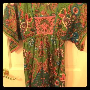 Tops - Green kimono style tunic